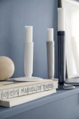 Kähler Design Hammershøi Candle Holder H12 - White