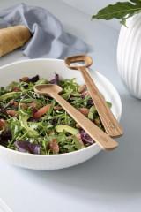 Kähler Design Hammershøi Salad Serving Set - Oak