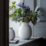 Lyngby Curve Porcelain Vase H12 cm