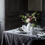 Lyngby Curve Vase H17.5 - White