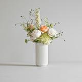 Lyngby Porcelain Vase H20.5 cm - White