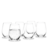 Holmegaard Cabernet Tumbler Clear - 25cl (6pcs)