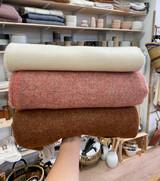 Pure Wool Blanket - Ginger Reversible