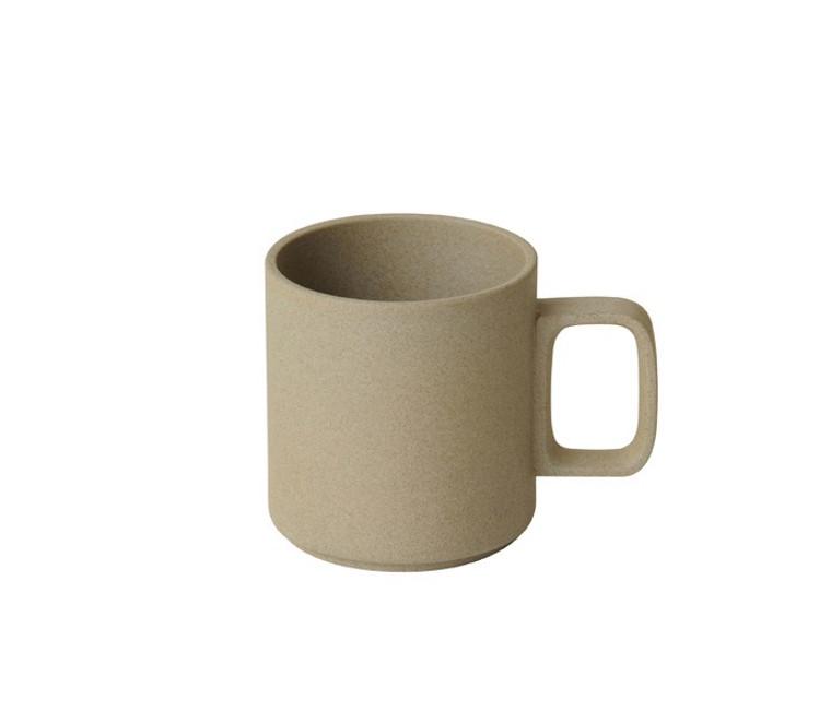 Hasami Porcelain Mug 13oz - Matte Natural