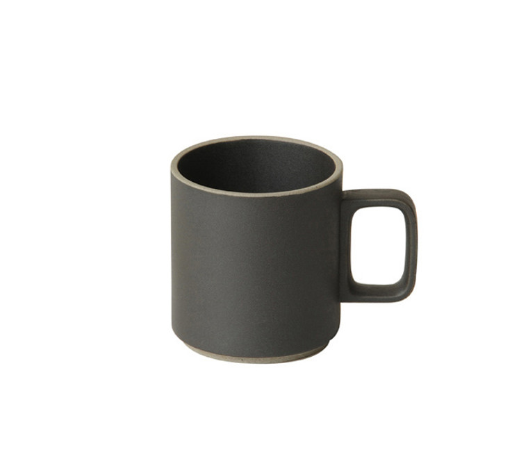 Hasami Porcelain Mug 13oz - Matte Black