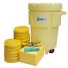 95 Gallon Wheeled Overpack Salvage Drum Spill Kit - HazMat