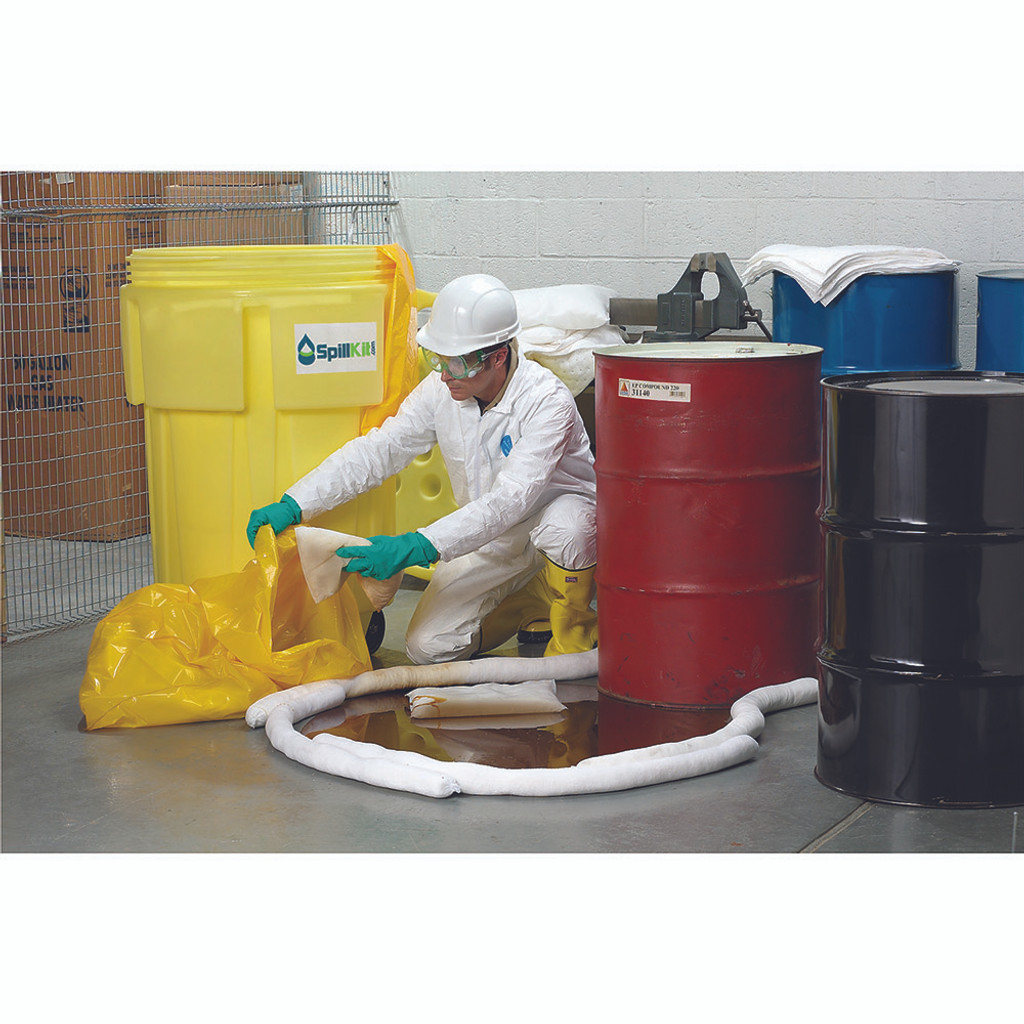 95 Gallon Overpack Salvage Drum Spill Kit - Universal