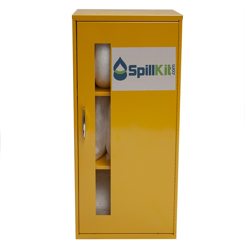 Wall-Mount Spill Locker Spill Kit - Oil Only