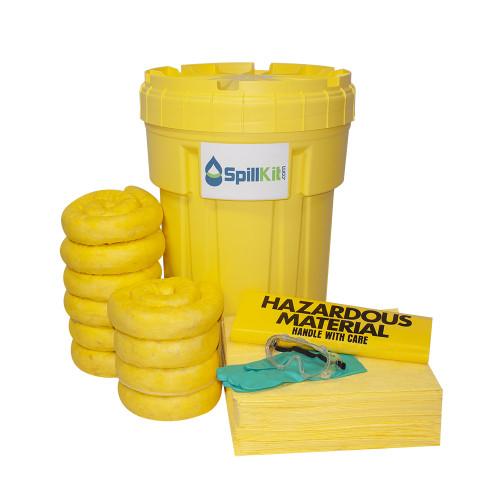 30 Gallon Overpack Salvage Drum Spill Kit - HazMat
