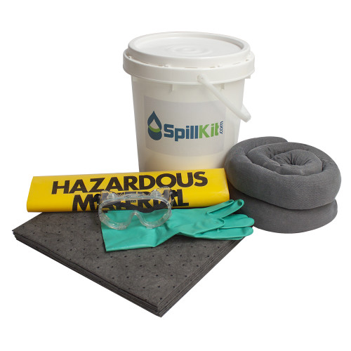 5 Gallon Bucket Spill Kit - Universal