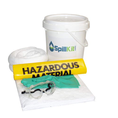 5 Gallon Bucket Spill Kit - Oil Only