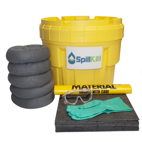 20 Gallon Overpack Salvage Drum Spill Kit - Universal