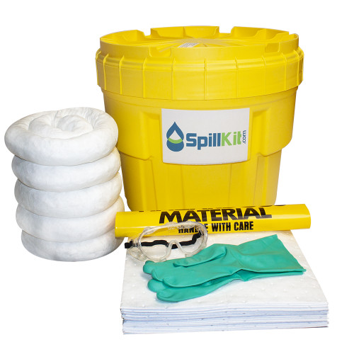 20 Gallon Overpack Salvage Drum Spill Kit - Oil Only