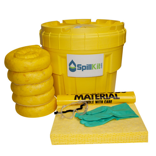 20 Gallon Overpack Salvage Drum Spill Kit - HazMat