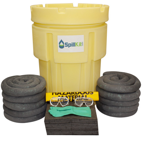 65 Gallon Overpack Salvage Drum Spill Kit - Universal