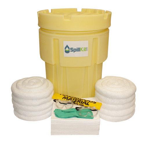 65 Gallon Overpack Salvage Drum Spill Kit - Oil Only