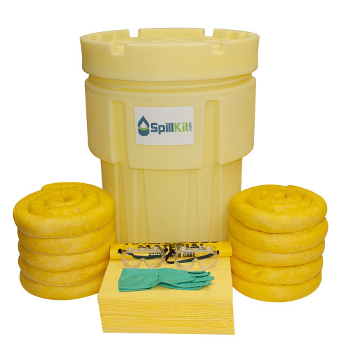 65 Gallon Overpack Salvage Drum Spill Kit - HazMat