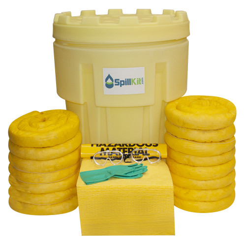 95 Gallon Overpack Salvage Drum Spill Kit - HazMat