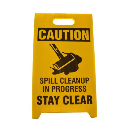 Spill Caution Sign