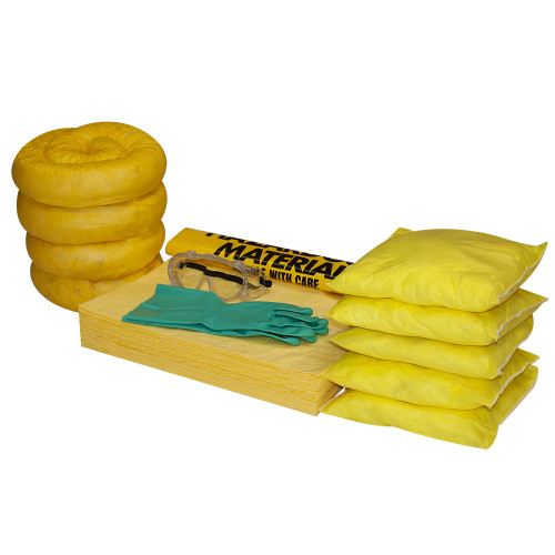 Wall-Mount Spill Locker Refill Kit - HazMat