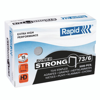 Rapid HD31 Plier Staples  73/6 box 5000 FITS KP-R31 HD31 20 sheets