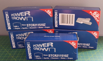 Bostitch B8  02245 Plier Staples STCR2115 10mm box 5000