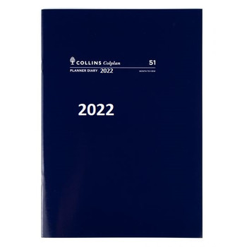 Diary 2022 A4 Planner month to view 51.C5921 Colplan Australia