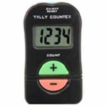 Tally Counter counts up and down with a BEEP (battery) Palm size 1-9999 counts up and down 4 digits