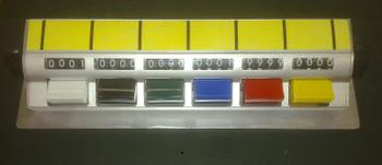 Tally Counter (D6b) DeskTop 6 bank 4 digit Aluminium