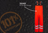 Ollyskins Hi-Viz Waterproof Bib Trousers