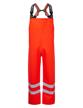 Ollyskins 3248 Hi-Viz Orange Waterproof Bib Trouser