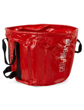 Ollyskins 5100 Fishing Weigh Bucket, Red