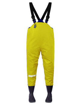 Ollyskins 2580 Kids Chest Waders, Yellow