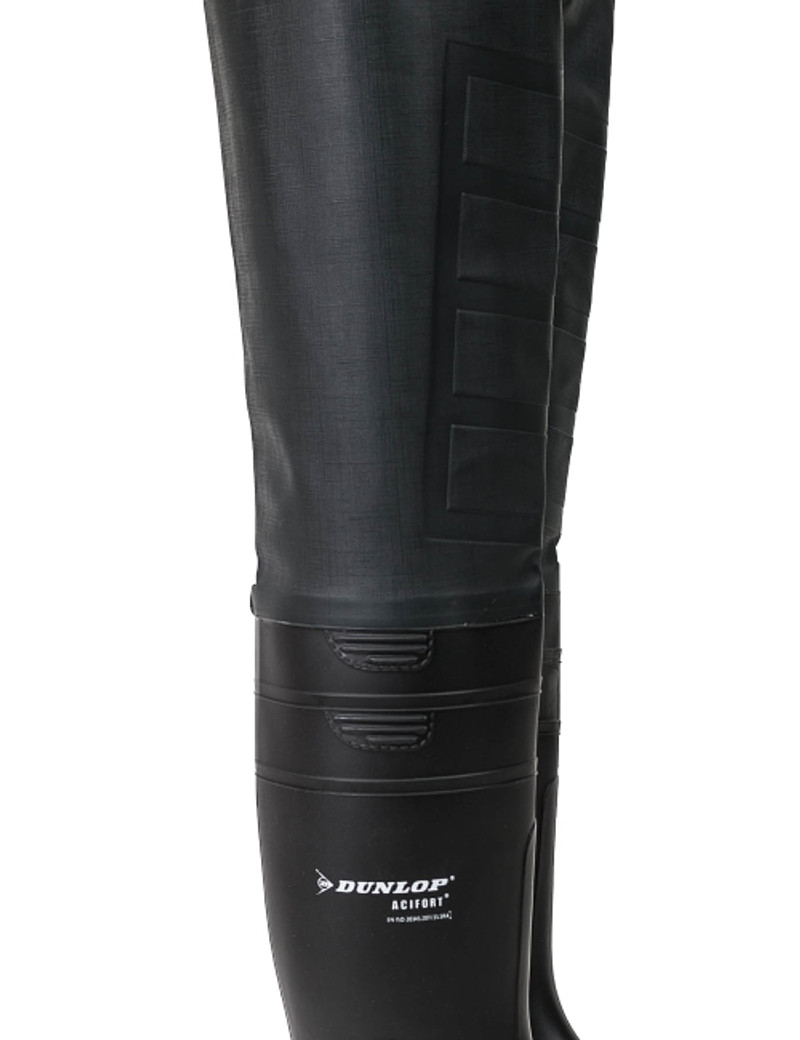 Ollyskins 2800 PVC Chest Wader, DUNLOP Boots