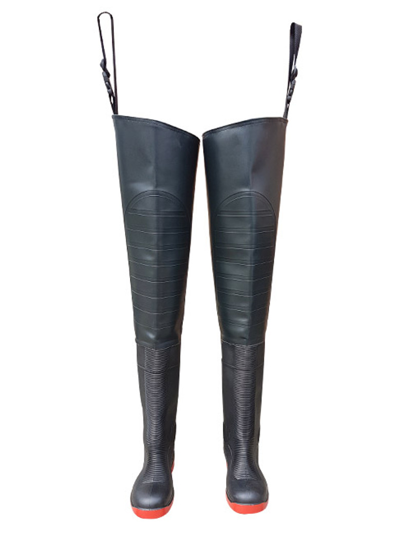 Ollyskins 2944 PVC S5 Safety Thigh Waders