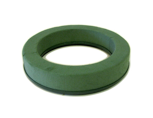 "Oasis Floral Foam Wreath / Ring Holder 8.5"" 2pk"