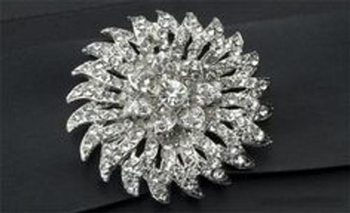 Bouquet Brooch - Floraburst Dazzle