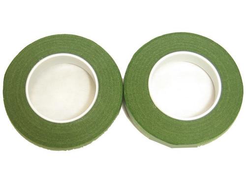 "Floral Stem Wrap Light Green - 1/2""w 90' 2pk Roll"