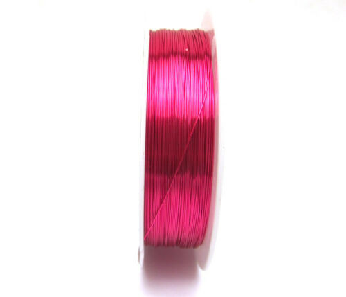 Floral Craft Wire Hot Pink - Skinny Wire - Fuchsia