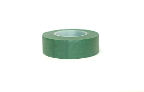 "Floral Stem Wrap Green - 1"" w x 90' Roll"