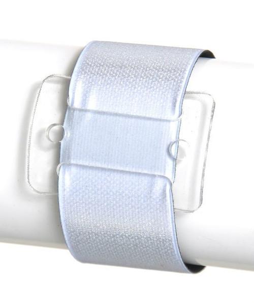 TCG Floral Silver Slaplet Wrist Corsage Bracelet 3pcs