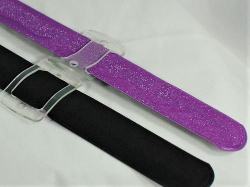 TCG Floral Purple Orchid Slaplet Wrist Corsage Bracelet 3pcs