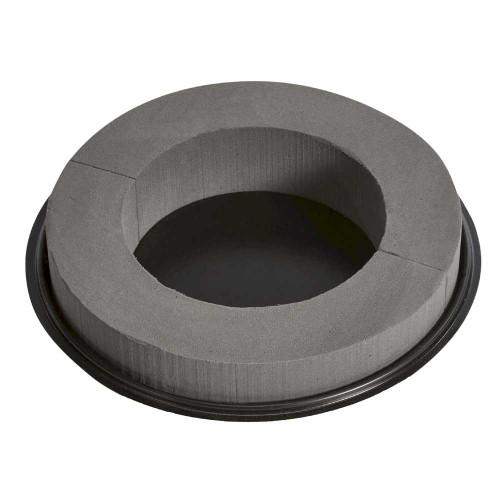 "OASIS Midnight Floral Foam Design Ring -- 10.5"" 2pk"