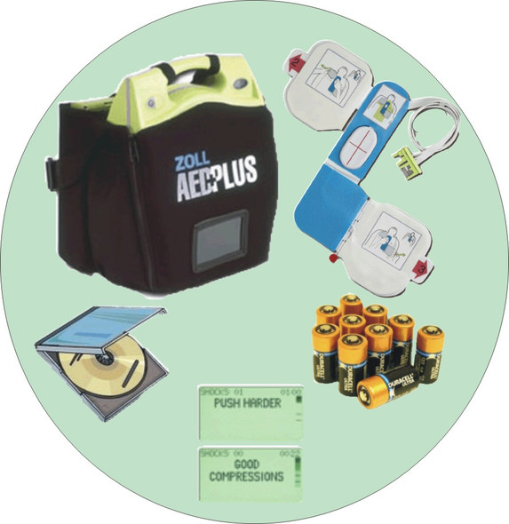 Accreditation Services ZOLL AED Package
