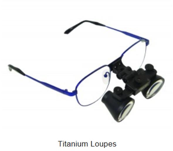 Titanium Loupes
