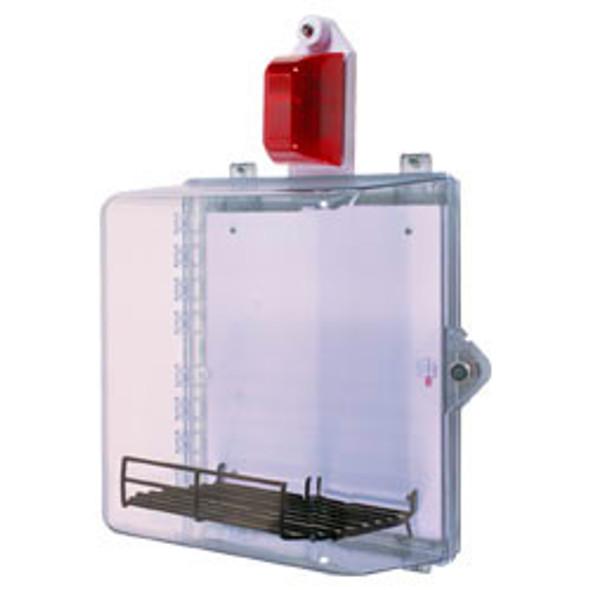 AED Acrylic Cabinet Strobe & Alarm