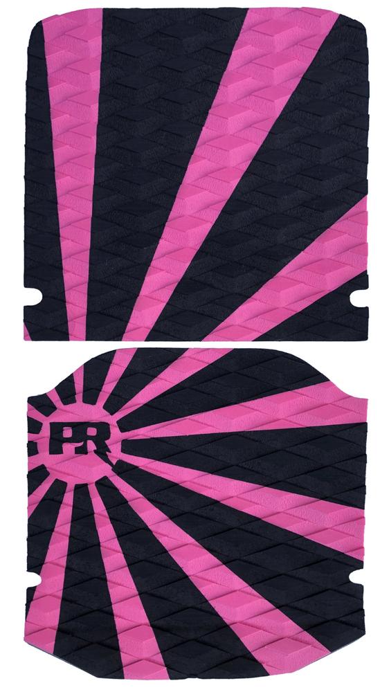 Rising Sun - Pink/Black