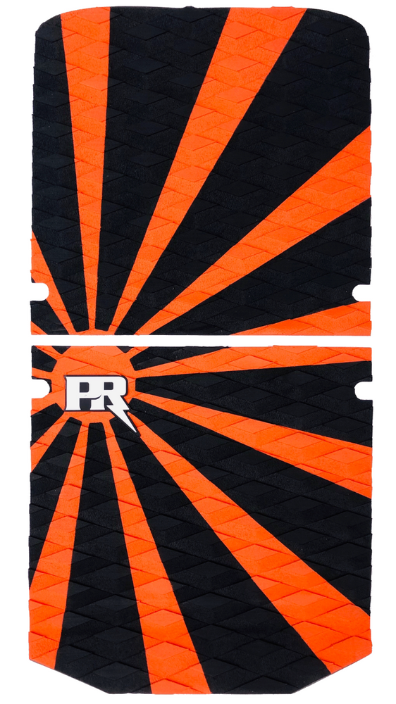 Rising Sun - Orange/Black