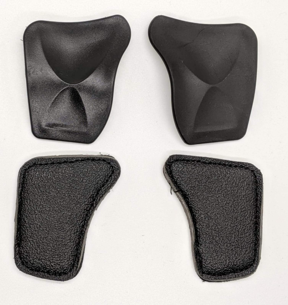 1Protect Gloves hard and soft removable and replaceable pucks