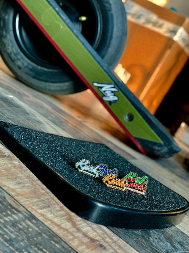 Kush Nug Hi Footpad for Onewheel Pint in shop with stickers